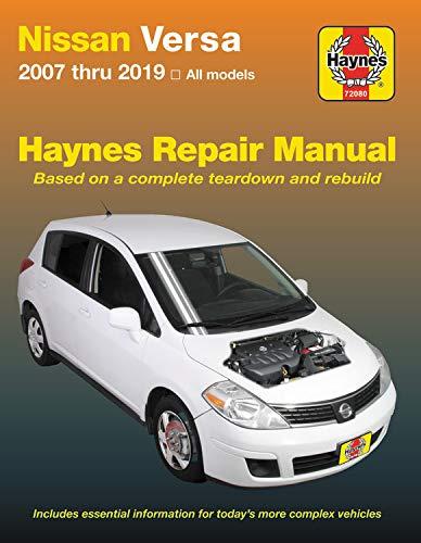 Nissan Versa for Versa (2007-2019) Haynes Repair Manual (USA)