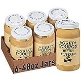 Grey Poupon Dijon Mustard (6 ct Casepack, 48 oz Jars)