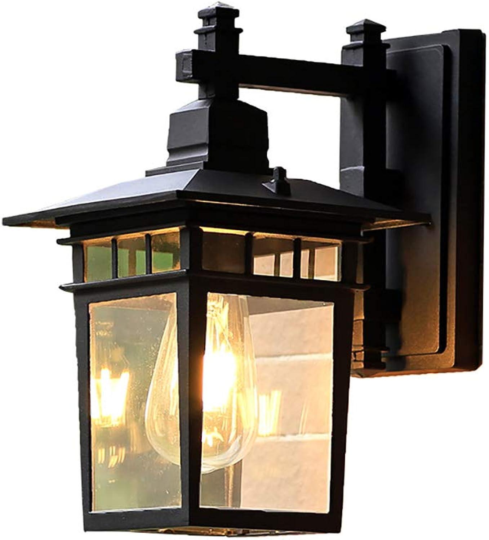 Retro Outdoor Wandlampe Wasserdicht Rust Dekorative Lampe für Garden Aisle Villa