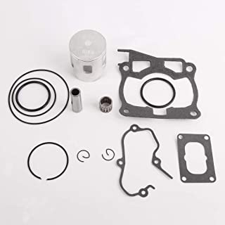 CQYD New YZ125 Top End Rebuild Kit For Yamaha Yz 125 YZ125 Piston Rings Gasket O-Ring Kit Set 1998-2001