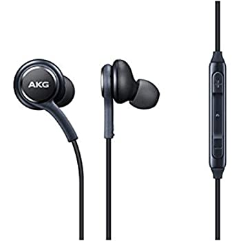 AKG Replacement BestTrendy Deux Écouteurs Intra-Samsung avec Microphone Mains Libres compatibles avec Divers appareils Samsung–Gris Titane