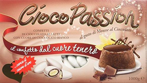 Crispo Confetti Cioco Passion Mousse al Cioccolato - Colore Bianco - 1 kg