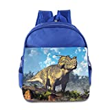 Achelousaurus Toddler Backpack For Kids,Cute School Backpack Snacks Bag