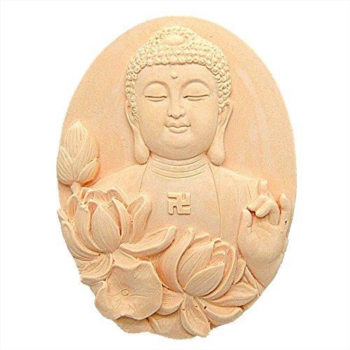 LC Buddha inkl. Form Craft Art Silikon Seife Form Craft DIY, Seifengießform Kerze handgefertigt