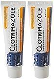 Family Care Clotrimazole Anti Fungal Cream, 1% USP Dxrpyn, 2 Pack