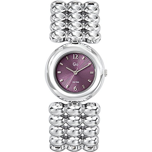 GO Girl Only 694601 - Reloj para Mujeres, Correa de aleación Color Plateado