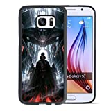 CASE LOCK LTD -SW Darth Vader Storm Trooper Han Solo Yoda R2D2 Jedi -Hard Rubber Case for New Samsung Galaxy S7 Edge, Made in The USA -Style 63