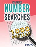 The book of Number Searches: 1000 Puzzles (Volume 1)