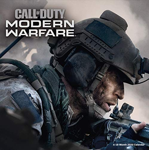 Call Of Duty 2020 Calendar - Official Square Wall Format Cal
