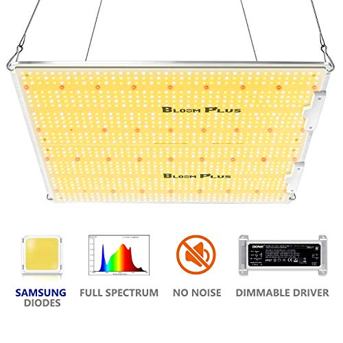 Bloom Plus LED Grow Light BP3000 Newest Grow Lights 5x5 ft Full Spectrum LED Growing Lights Dimmable Plant Growing Lamps for Commercial Greenhouse Indoor Veg and Flower Growing Light Fixtures