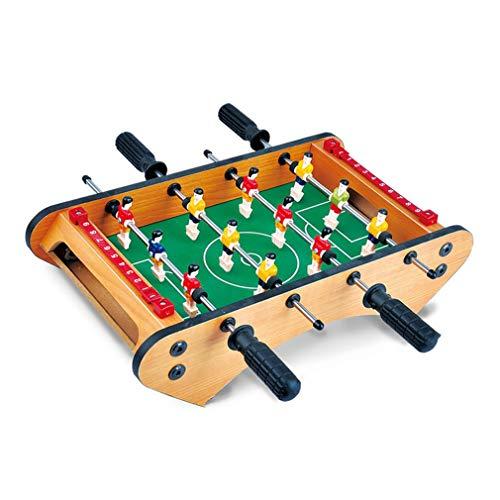Mini tafelblad tafelvoetbal tafel-draagbare tafelvoetbalspel voor volwassenen Kinderen Multicolor