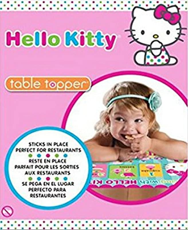 Hello Kitty Table Topper Place Mats Counting With Hello Kitty 10 Pack