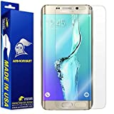Samsung Galaxy S6 Edge Plus Screen Protector [Full Coverage], Armorsuit MilitaryShield w/Lifetime Replacements - Anti-Bubble Ultra HD Premium Shield
