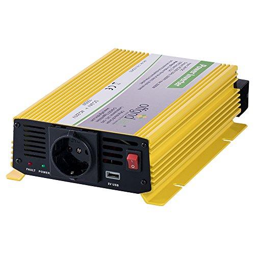 Offgridtec® HF24-1000 1000W 2000W 24V 230V Spannungswandler modifizierter Sinus