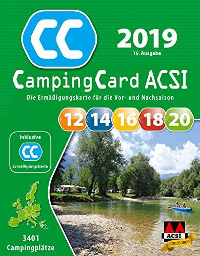 CampingCard ACSI 2019 (ACSI Campinggids)