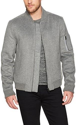 PAIGE Men's Eckhart Wool Bomber Jacket