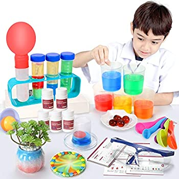 47-Piece Snaen Science Kit with 30 Science Lab Experiments