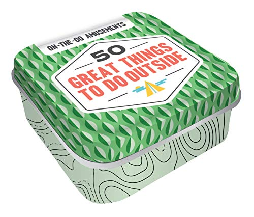 On-The-Go Amusements: 50 Great Things to Do Outside: (Screen-Free Boredom Busters for Summer Days or School Holidays, Activity Ideas for Family Fun to