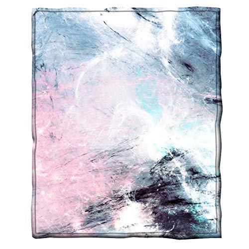 YDDDD Mantas para Cama Terciopelo ártico Manta de sofá mullida súper Suave y cálida,niños y Adultos Usado para para sofá,Asiento o Cama 130×150cm Resumen