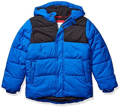 Mens Winter Jacket Waterproof Warm Snow Ski Jackets Faux Fur Fleece Rain Coats with Removable Hood and Windproof Cuffs