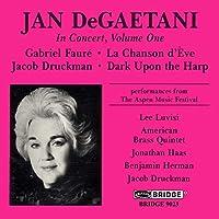 Jan Degaetani in Concert Vol. 1