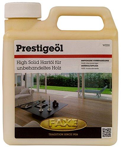 Faxe Prestigeöl weiss 1L Öl Holzbodenöl Fußboden Boden Holz Öl