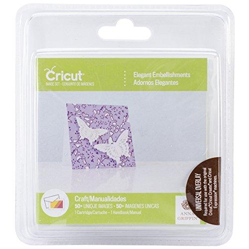 Cricut Elegant Embellishments Cartridge
