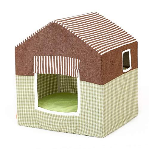 Hundehäuser innen Haustier Haus Zelt - abnehmbar vier Jahreszeiten universal Hundehütte Katze Zelt tragen stark und cool Hundezwinger
