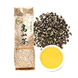 Yan Hou Tang Organic Taiwan Jin Xuan Milk Green Oolong Tea Loose Leaf Butter Cream Style - Green Food Milky Flavor Three Tastes change High Mountain Caffeine Medium for Detox Weight Loss US FDA SGS Verified 150g