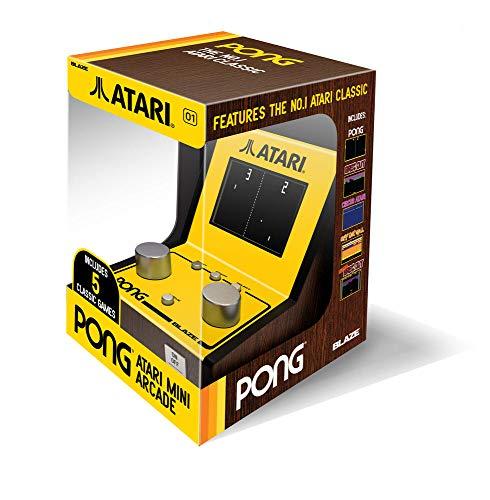 Atari Pong Mini Arcade (with 5 retro games) (Electronic...