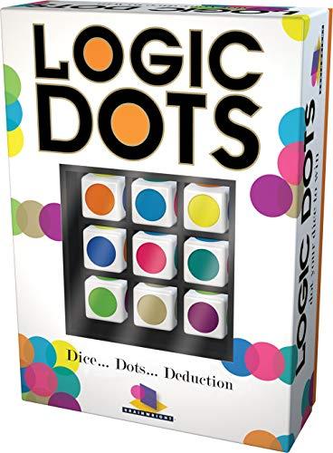 Brainwright Logic Dice Dots Deduction Puzzle Multicolored 5quot