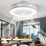 Ventilatore da soffitto in stile moderno con luci con telecomando e controllo...