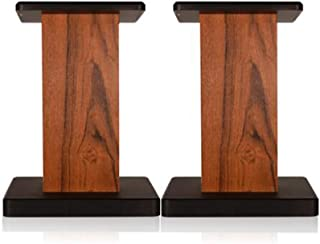 Stands Speaker Stand Home Living Room Wooden Shock Absorber Speaker Stand Desktop Floor Type Surround Stable Bookshelf (Co...