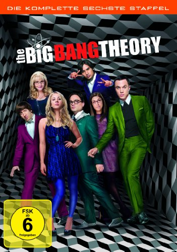 Cover The Big Bang Theory - Die komplette sechste Staffel [3 DVDs]