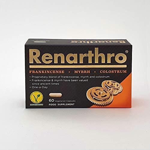 Renarthro 60 caps - formula brevettata di incenso, mirra e colostro