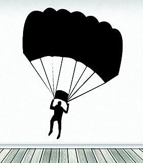 ملصق حائط مصنوع من الفينيل RAD 555 1 Parachute Jumping Man Sky Diving من Design with Vinyl RAD 555 1 Parachute Jumping Man...