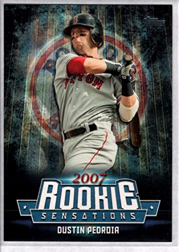 2015 Topps Update Rookie Sensations #RS-15 Dustin Pedroia Red Sox Baseball Card NM-MT