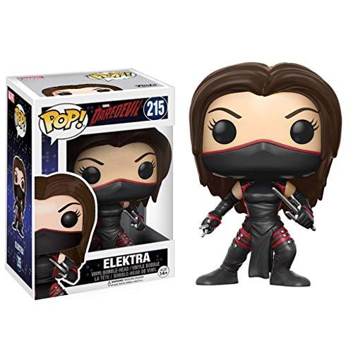 MMZ ¡Popular!Daredevil - Elektra de colección de Vinilo Figurita de la Serie Classic Movie