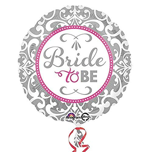 Amscan 3212301 Elegant Bride to be folie ballonnen