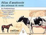 Atlas d'anatomie des animaux de rente - Les fondamentaux