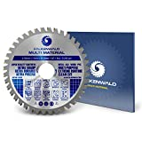 FALKENWALD ® Sägeblatt für Winkelschleifer 125mm - Ideal für Holz, Alu & Kunststoffe