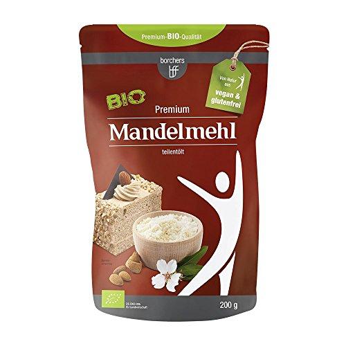 borchers bff Premium Bio Mandelmehl teilentölt 200g