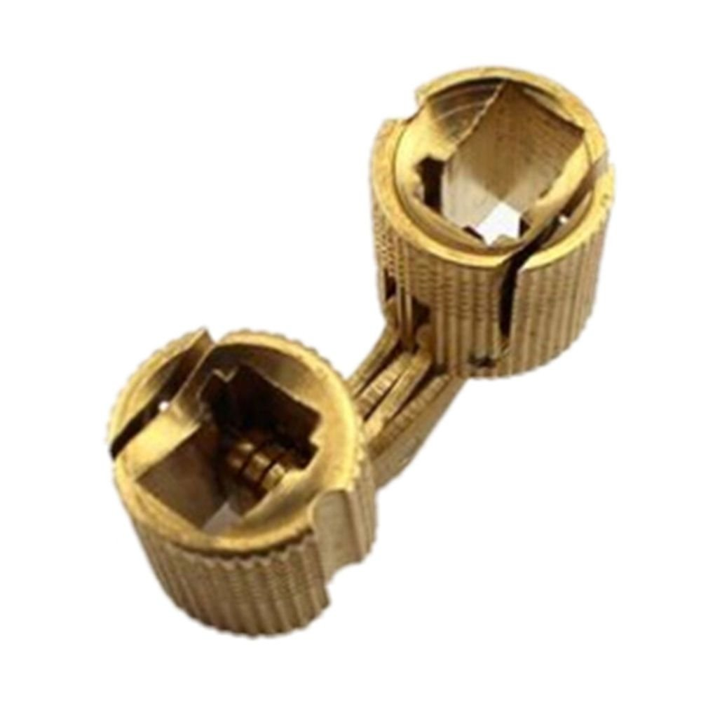 4 Challenge the lowest price Ranking integrated 1st place of Japan ☆ pcs Brass Barrel Hinge Concealed Car Invisible for