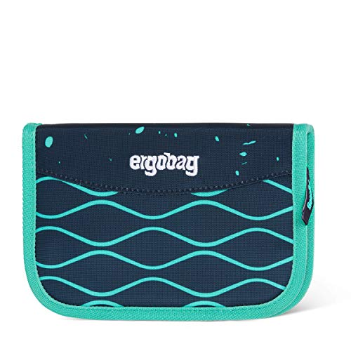ergobag Unisex-Kinder Hard Pencil Case Münzbörse Mehrfarbig (Bubblebear)