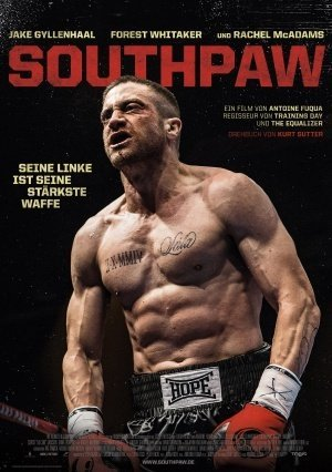Southpaw - Jake Gyllenhaal – German Imported Movie Wall Poster Print - 30CM X 43CM