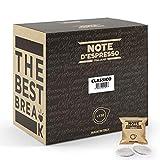 Note d'Espresso Italiano - Bolsitas de café clásico monodosis, 7 g (caja de 150 bolsas de papel)
