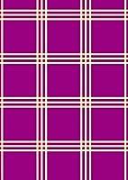 igsticker ポスター ウォールステッカー シール式ステッカー 飾り 841×1189㎜ A0 写真 フォト 壁 インテリア おしゃれ 剥がせる wall sticker poster 004415 チェック・ボーダー その他 チェック 模様 紫