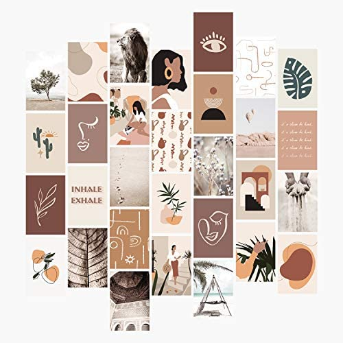 YUMKNOW Aesthetic Wall Collage Kit 4x6 inch Set of 30 Teen Girl Room Decor for Bedroom Dorm product image