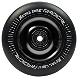 Bestial Wolf Metal Core Rueda Radical Black para Scooter Freestyle, Diámetro 110 mm (Negro)