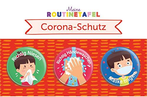 PinkMausi 3 Aufgaben Set zum Schutz während Corona – Magneten